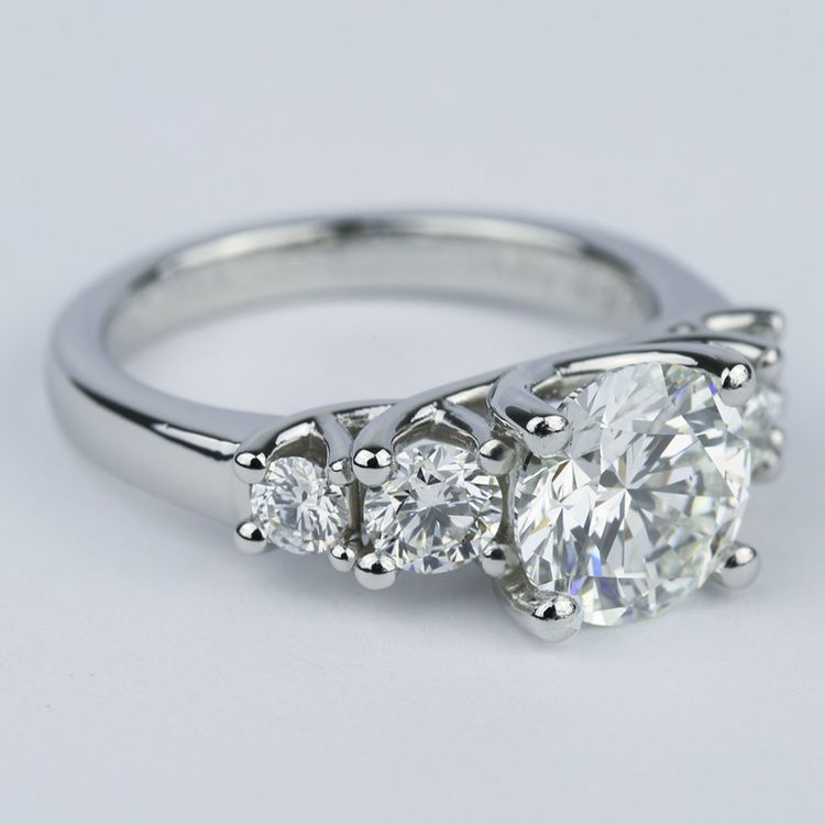 zac trellis posen engagement setmain tw five diamond stone platinum ct rings truly your rd own ring in ca build