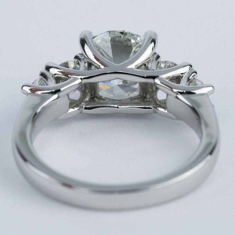 Trellis Five-Diamond Engagement Ring (2 Carat Center) angle 4