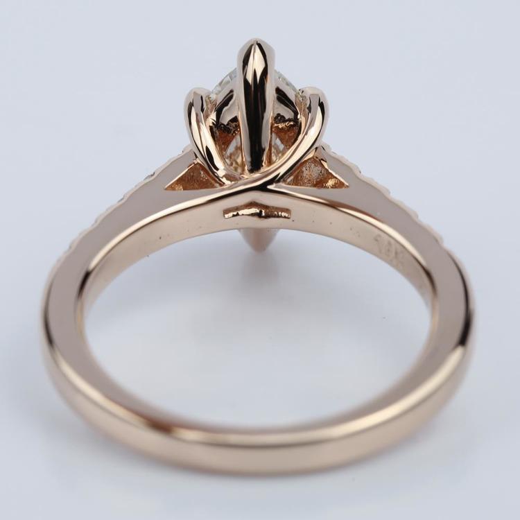 Trellis Marquise Diamond Engagement Ring 1 20 Ct
