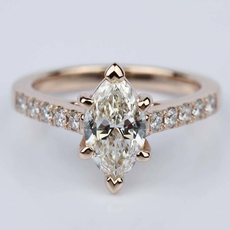 Trellis Marquise Diamond Engagement Ring (1.20 ct.)