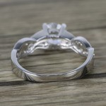 Twisted Split Shank Pave Diamond Engagement Ring (0.90 ct.) - small angle 4