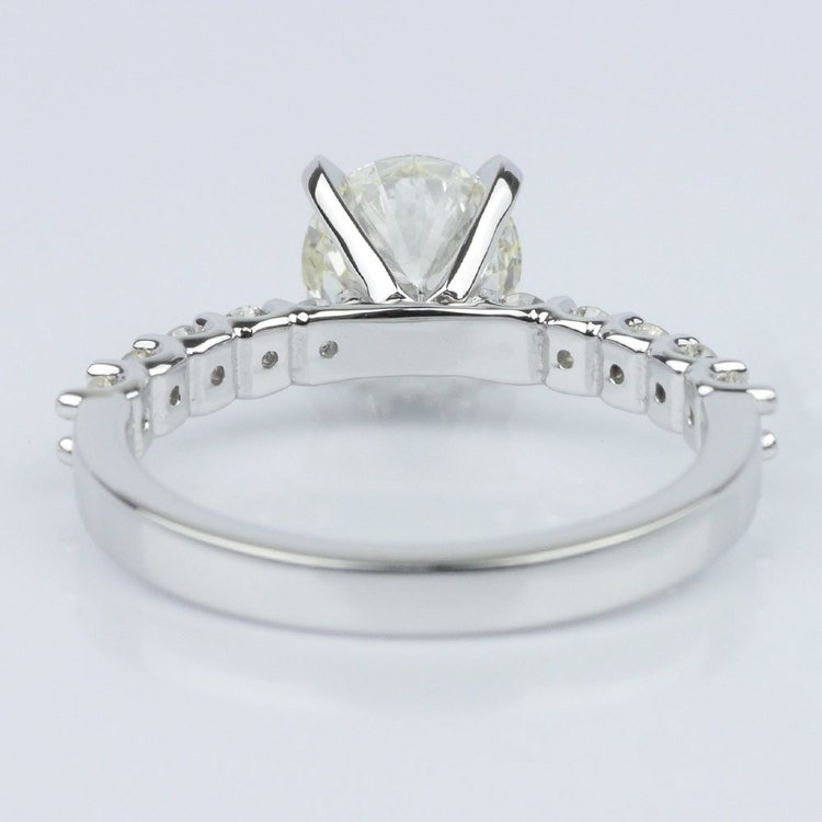 U-Prong Round Diamond Engagement Ring (1.70 ct.) angle 4