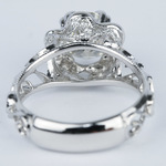 Vintage Floral Crown Parade Diamond Engagement Ring (1.38 ct.) - small angle 4