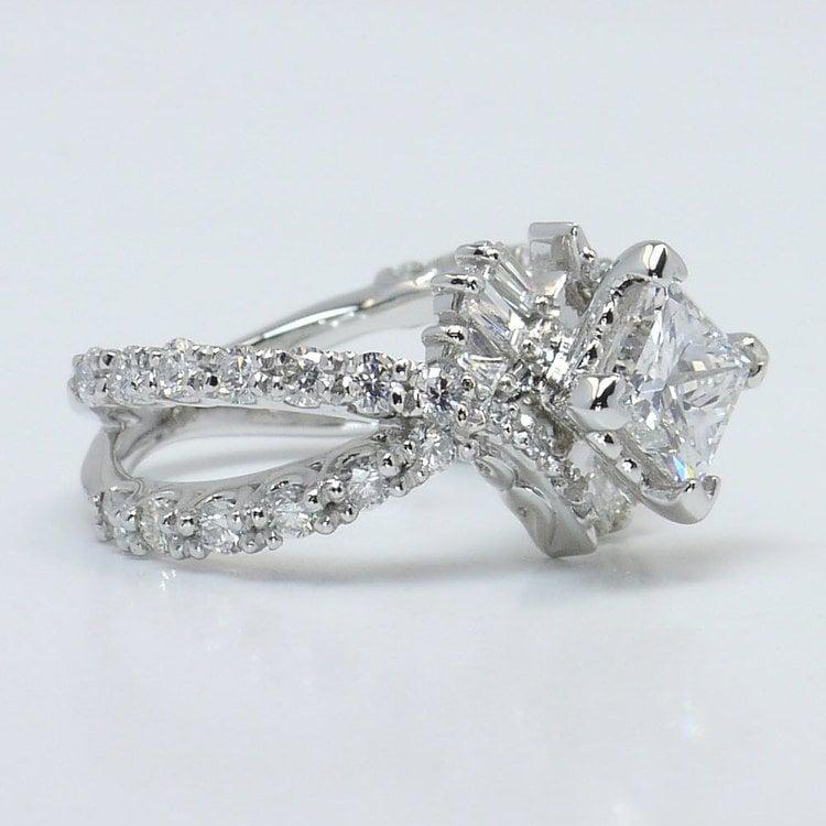 Vintage Statement Diamond Ring angle 3