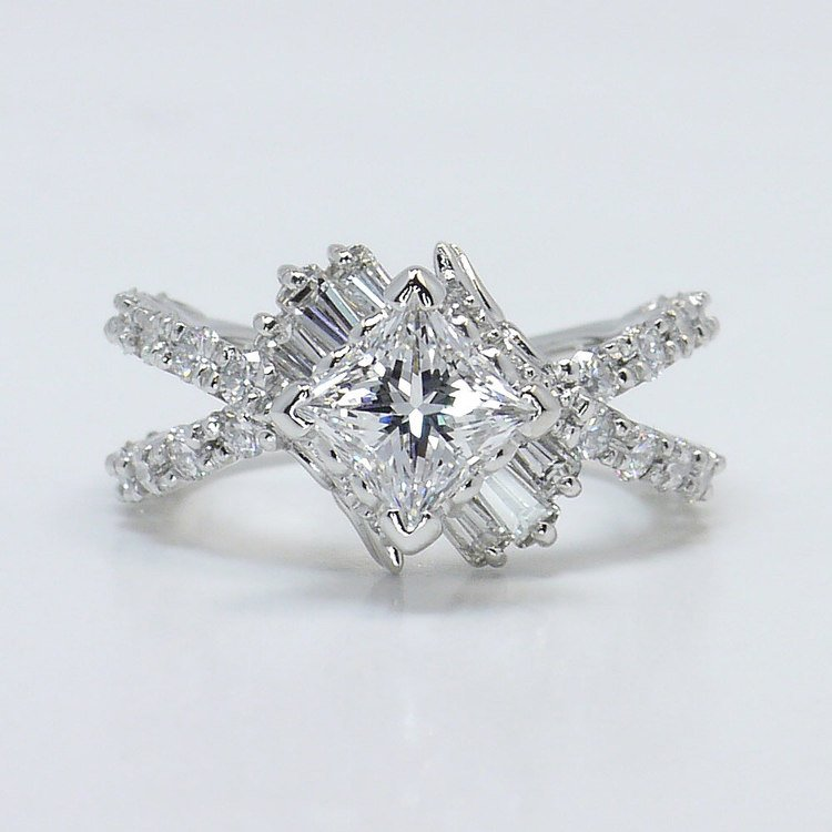 Vintage Statement Diamond Ring