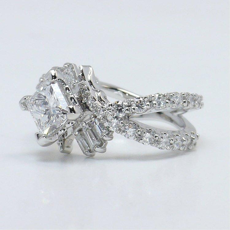 Vintage Statement Diamond Ring angle 2
