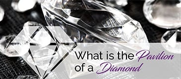 What is the Pavilion of a Diamond?