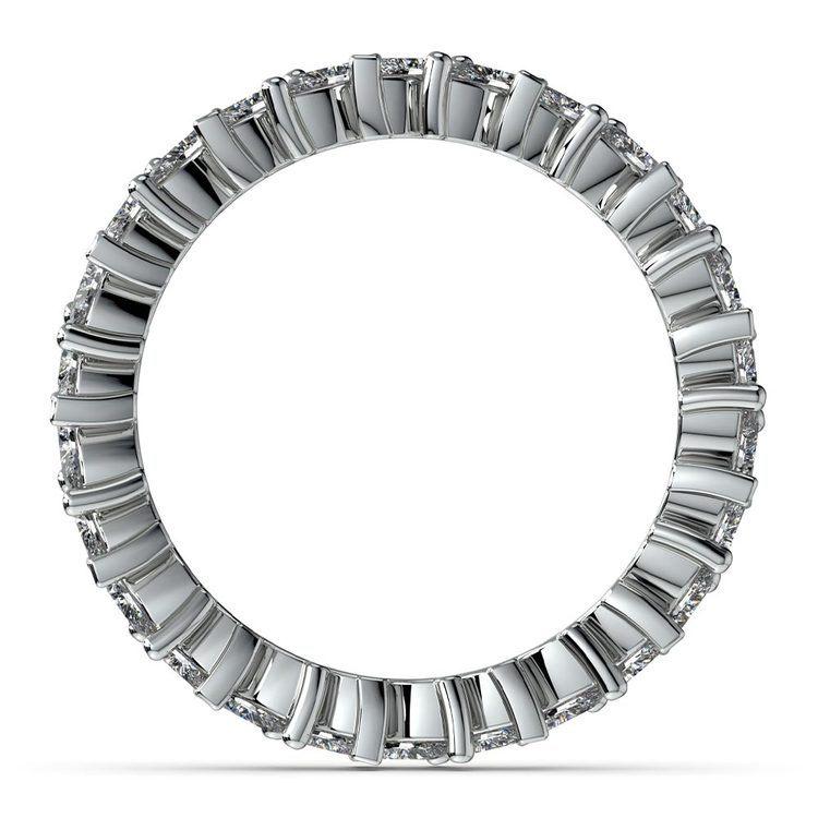 1.75 Carat Marquise Cut Diamond Eternity Band In Platinum   03
