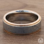 Apollo - Rose Gold & Meteorite Mens Wedding Band | Thumbnail 04