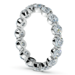 Floating Diamond Eternity Ring in Platinum (2 1/2 ctw) | Thumbnail 04