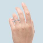 Floating Diamond Eternity Ring in Platinum (2 1/2 ctw) | Thumbnail 05