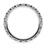 Scallop Diamond Eternity Ring in Platinum (1 1/2 ctw)   Thumbnail 03