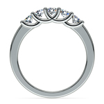 Trellis Five Diamond Wedding Ring in Platinum | Thumbnail 03