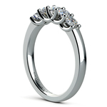 Trellis Five Diamond Wedding Ring in Platinum | Thumbnail 04