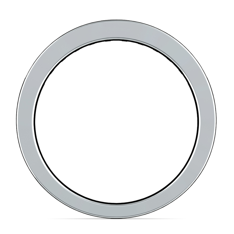 Channel Diamond Wedding Ring in Platinum (1/2 ctw) | 03