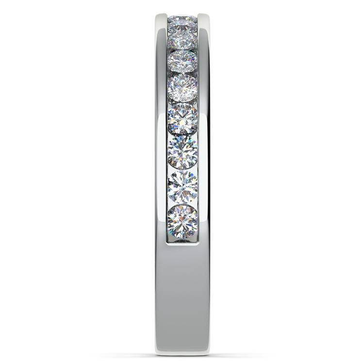 Channel Diamond Wedding Ring in Palladium (1/2 ctw)   05