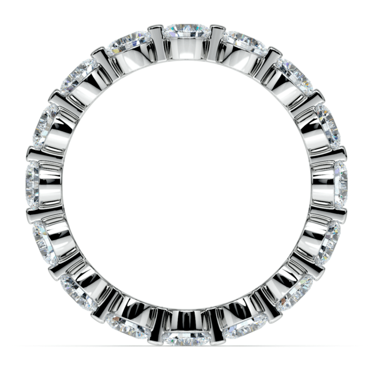 Floating Diamond Eternity Ring in White Gold (2 1/2 ctw) | 03