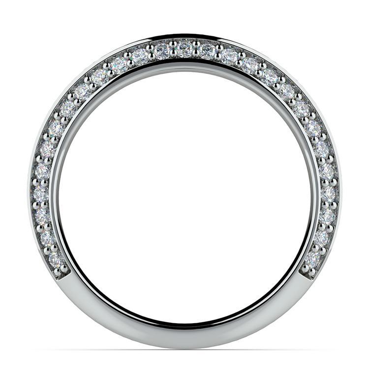 Knife Edge Diamond Wedding Ring in Platinum (1/2 ctw) | 03