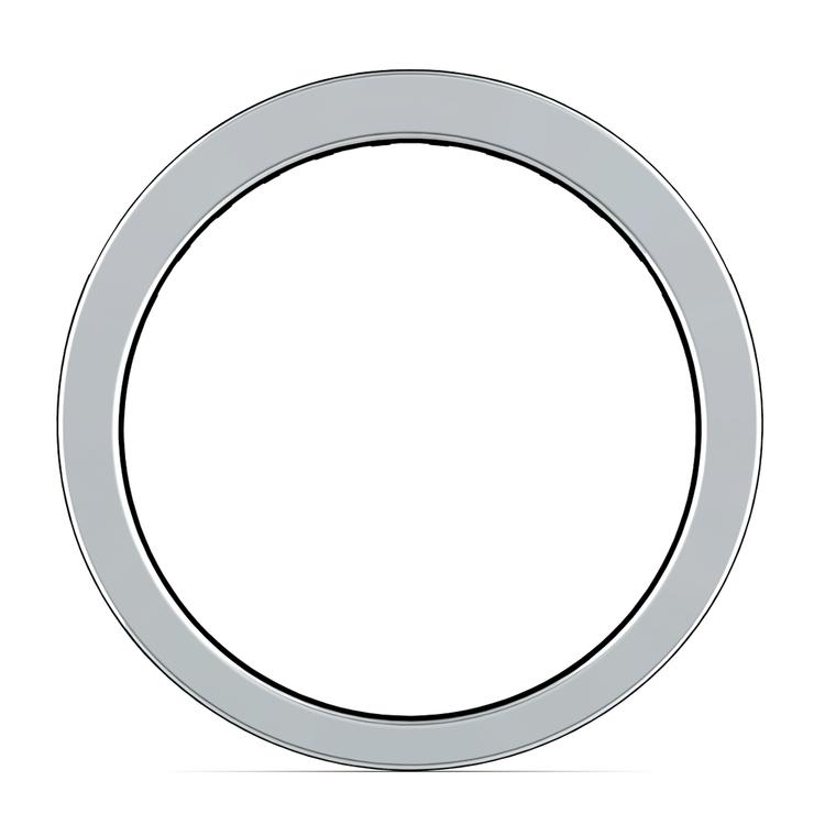 Princess Channel Diamond Wedding Ring in Platinum (1/2 ctw) | 03