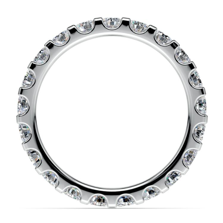 Scallop Diamond Eternity Ring in Platinum (1 1/2 ctw) | 03