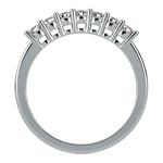 Seven Diamond Wedding Ring in Platinum (1/3 ctw) | Thumbnail 03