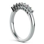 Seven Diamond Wedding Ring in Platinum (1/3 ctw) | Thumbnail 04