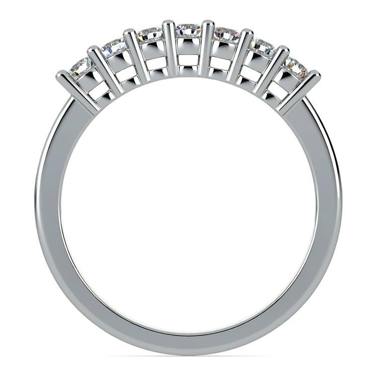 Seven Diamond Wedding Ring in Platinum (1/3 ctw) | 03