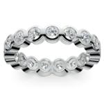 Bezel Diamond Eternity Ring in Platinum (1 3/4 ctw) | Thumbnail 02