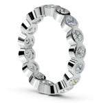 Bezel Diamond Eternity Ring in Platinum (1 3/4 ctw) | Thumbnail 04