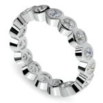Bezel Diamond Eternity Ring in White Gold (1 3/4 ctw) | Thumbnail 01