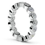 Bezel Diamond Eternity Ring in White Gold (1 3/4 ctw) | Thumbnail 04