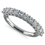 Eleven Diamond Wedding Ring in White Gold (3/4 ctw) | Thumbnail 01
