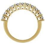 Eleven Diamond Wedding Ring in Yellow Gold (3/4 ctw) | Thumbnail 03