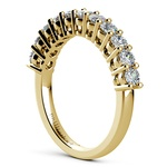 Eleven Diamond Wedding Ring in Yellow Gold (3/4 ctw) | Thumbnail 04