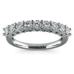 Nine Diamond Wedding Ring in White Gold (3/4 ctw) | Thumbnail 02