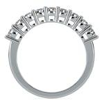 Nine Diamond Wedding Ring in White Gold (3/4 ctw) | Thumbnail 03