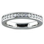 Pave Diamond Eternity Ring in Platinum (3/4 ctw) | Thumbnail 02