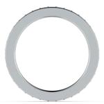 Pave Diamond Eternity Ring in Platinum (3/4 ctw) | Thumbnail 03