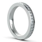 Pave Diamond Eternity Ring in Platinum (3/4 ctw) | Thumbnail 04