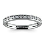 Pave Diamond Wedding Ring in Platinum  | Thumbnail 02