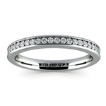 Pave Diamond Wedding Ring in White Gold  | Thumbnail 02