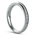 Pave Diamond Wedding Ring in White Gold  | Thumbnail 04