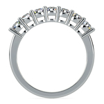 Seven Diamond Wedding Ring in Platinum (3/4 ctw) | Thumbnail 03
