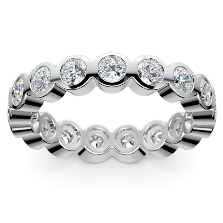 Bezel Diamond Eternity Ring in Platinum (1 3/4 ctw) | 02