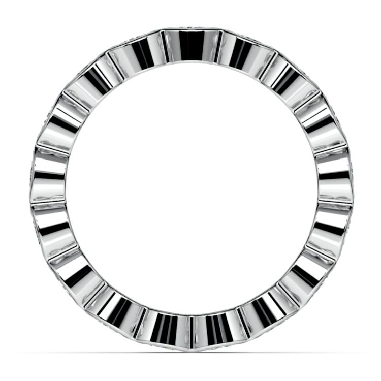 Bezel Diamond Eternity Ring in White Gold (1 3/4 ctw) | 03