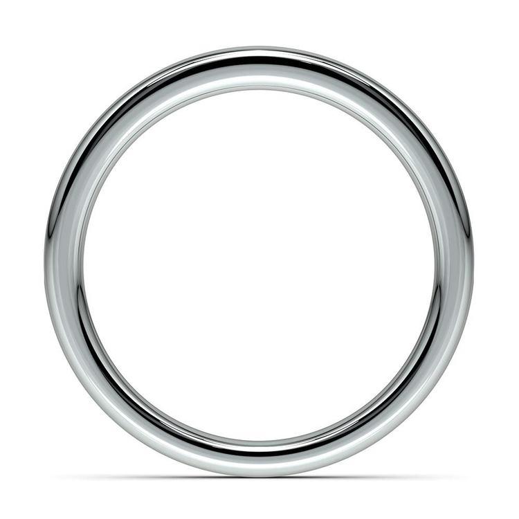 Channel Diamond Wedding Ring in Platinum (1/4 ctw) | 03
