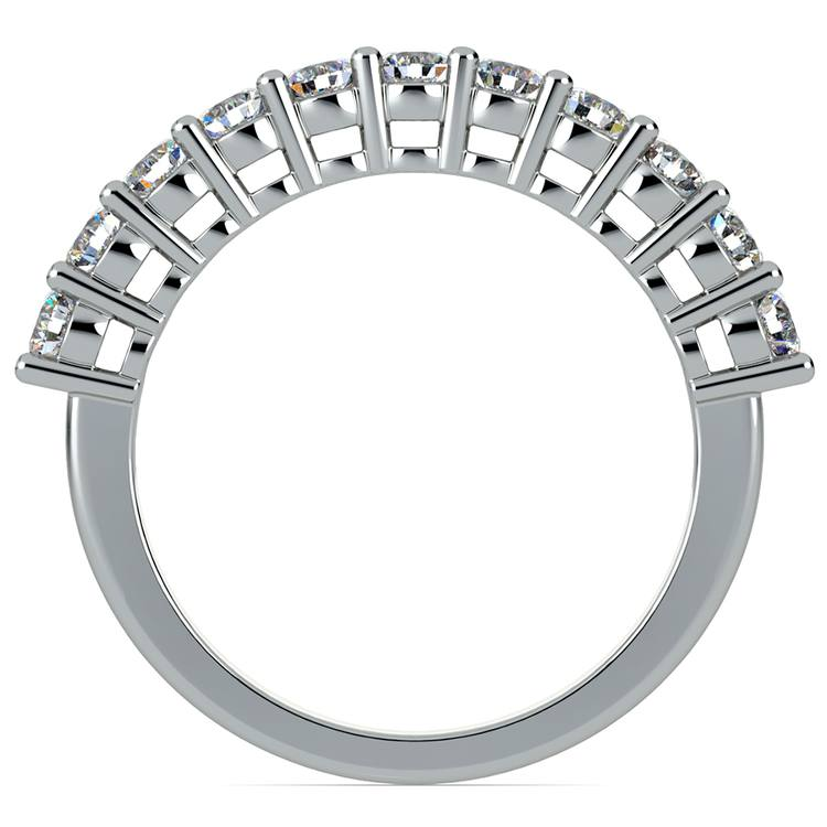 Eleven Diamond Wedding Ring in White Gold (3/4 ctw) | 03