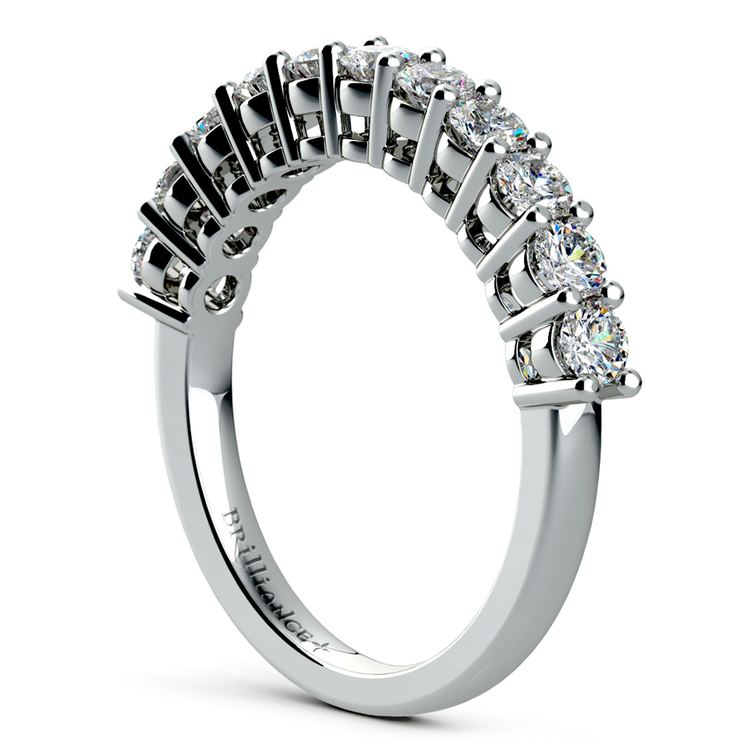 Eleven Diamond Wedding Ring in White Gold (3/4 ctw) | 04