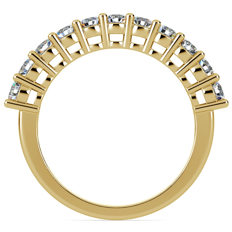 Eleven Diamond Wedding Ring in Yellow Gold (3/4 ctw) | 03