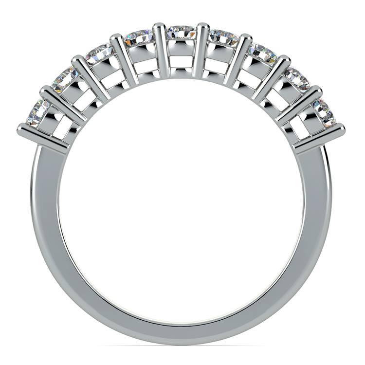 Nine Diamond Wedding Ring in Platinum (3/4 ctw) | 03